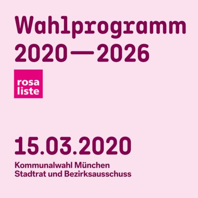 Bild: Wahlprogramm 2020 - 2026