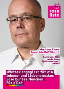 Vorschaubild Flyer - Andreas Klose