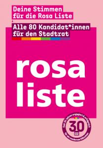 Vorschaubild Flyer - Alle 80 Kandidat*innen für den Stadtrat